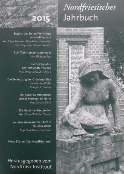 Blog 7.10.2014 (Rezensionen Nordfriesisches Jahrbuch)